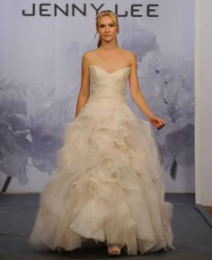 Jenny Lee Fall 2014 Wedding Dresses | The Knot Blog – Wedding Dresses, Shoes, & Hairstyle News & Ideas