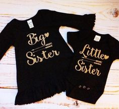 Big Sister and Little Sister Matching Outfits by Lilgigglescouture