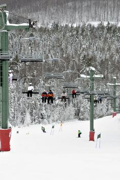 High elevation, abundant snowfall and scenic beauty provide ideal conditions for downhill skiing and snowboarding at Treetops Resort.