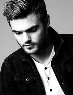 """corkwoood: """" Alex Roe in a new photoshoot for Just Jared. """""""