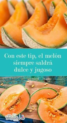 Cómo madurar un melón y que quede dulce y jugoso   Cocina Delirante