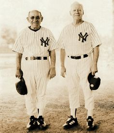 Yogi Berra and Whitey Ford, New York Yankees #nyy