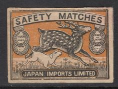 US $3.29 Used in Collectibles, Paper, Matchbox Labels