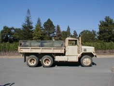 """If you're looking for a tough-as-nails off-roader, I don't think you'll get more bang for your buck than this """"Deuce-and-a-Half"""" Army truck. Us Military, Military History, Us Army, Military Vehicles, 6x6 Truck, Southern Pride, Tough As Nails, Square Body, Rolling Stock"""