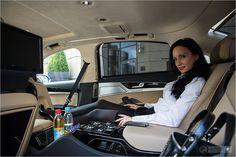 AUDI A8L 6.3 W12 – Autoblogger Fahrbericht und Reisen in der Business Class - Luxus auf Rändern - Innenraum Liegesitz #audi