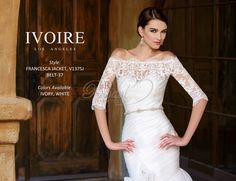 Ivoire by Kitty Chen Spring 2014 Style 1375 Francesca Jacket Only