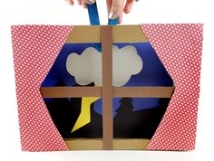 Storms can be very scary, but this story time project lets YOU be in charge of the clouds, rain, and lightning! Book Projects, Projects For Kids, White Construction Paper, Paper Towel Tubes, Stormy Night, Rain Clouds, Very Scary, Back Pieces, Small Boxes