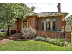 290 Ogden Street, Denver, CO 80218 — One of the most coveted homes on Alamo Placita Park!!Designed in the style of Jacques Benedict, this beautiful home overlooks the gardens at the park.Perfect for entertaining with patio & pool!! Tons of original charm & incredible French doors & windows.  Batchelder tile fireplace, wood floors throughout main floor; main floor master bedroom with ensuite bath; large garage with area for pool house. Full finished basement with family, exercise and…