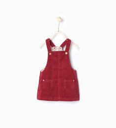 You should check out this website- I think you'd really like it for your little penner grandbabies.  Image 2 of Corduroy pinafore dress from Zara