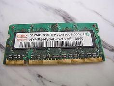 HYNIX 512MB DDR2 SDRAM PC2-5300S Laptop SO-DIMM