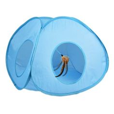 Pounce House Interactive Cat Toy Ourpets Feather Tent Spinning Toys Fast&Free UK