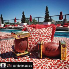 Are you in DC? Join @vidafitnessdc on May 19th for their rooftop pool party fundraiser! Repost from @vidafitnessdc using @RepostRegramApp - Want to win one of these autographed footballs from @redskins players @kirk.cousins & @pierregarcon? 🏈 You can take one home from our #ALSevent next Friday at @penthousepool #Ustreet! All proceeds from this ticketed event go towards @augiesquest, a non-profit organization dedicated to finding a cure for ALS. Come out & enjoy some light snacks…
