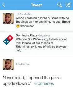 That Is Not A Pizza // tags: funny pictures - funny photos - funny images - funny pics - funny quotes - Epic Fail, What Is Like, That Way, Really Funny, The Funny, Look Here, Stupid People, Funny People, Looks Cool