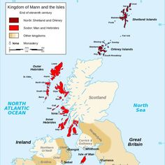 The Vikings settle Scotland's islands, 9th - 13th century