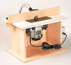 Woodworking Plans & Projects - Router Table Woodworking Plans #woodworking
