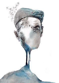 Художник Sunga Park | Портретное.... Обсуждение на LiveInternet - Российский Сервис Онлайн-Дневников
