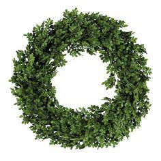 Boxwood Wreath Ballard designs $89.00 22inches