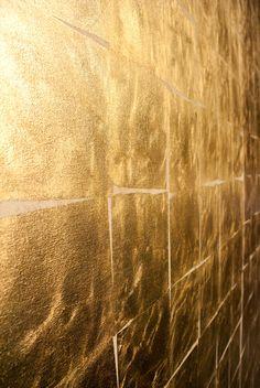 Golden wall detail
