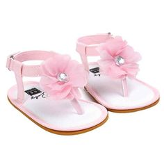afc23e8cc490bd Baby Flower Pearl Sandals Children Shoes for Girls