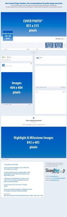 Tamaño de imágenes en el nuevo Timeline de Facebook