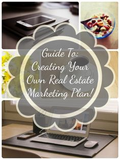 Guide To Creating Your Own Real Estate Marketing Plan! Very simple and easy to act on.   #marketing #realestate #realtor Investing Investing Ideas