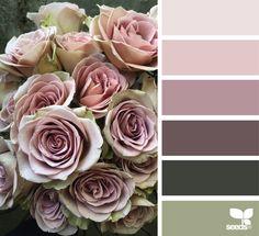 Color Bloom my favorite color story Color Schemes Colour Palettes, Colour Pallette, Color Combos, Green Palette, Paint Colors For Home, House Colors, Decoration Palette, Color Balance, Design Seeds