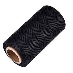 eBoot 260m 150D 1 mm Leather Waxed Thread Cord for Leather craft DIY Black -- For more information, visit image link. (Note:Amazon affiliate link)