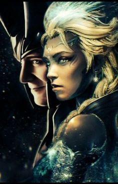 loki and elsa | Frozen Asgardians (a Loki and Elsa fan fic)