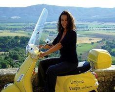 Umbria in Vespa the idea
