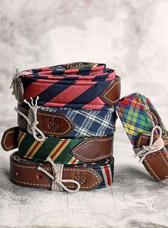 New England — kieljamespatrick: Four new Peyton Heritage Belts...