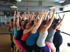 Utkatasana circle. CorePower Yoga Teacher Training. Summer 2013.
