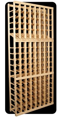 8 Column, 120 Bottle Wine Cellar Rack with Display Row. High quality wine racks and cellar systems. Wine Cellar Basement, Wine Cellar Racks, Home Wine Cellars, Wine Cellar Design, Wine Display, Wine Wall, Wine Cabinets, In Vino Veritas, Italian Wine