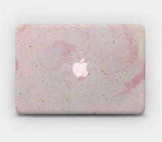 Transparent MacBook Skin MacBook Sticker MacBook Decal Laptop Skin Laptop Sticker MacBook Air Pro – Pastel Rose Gold