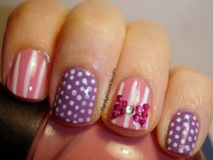 """""""Delicate"""" Nails. i would totally wear my nails like this!"""