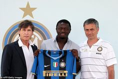 Next up for Mourinho was Inter Milan, where Sulley Muntari was an early purchase