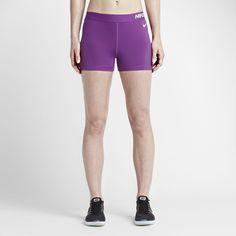 "Nike Pro HyperCool Women's 3"" Training Shorts Size Medium (Purple) - Clearance Sale"
