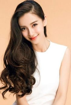 Angelababy Hot Peruvian Kinky Virgin Hair with Closure Human Hair With Closure 4 Bundles Peruvian Virgin Hair with Closure Korean Beauty, Asian Beauty, Asian Woman, Asian Girl, Angelababy, Asian Celebrities, Loose Waves Hair, Beautiful Asian Women, Girl Pictures