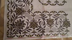 Bargello, Cross Stitch Designs, Cross Stitch Embroidery, Valance Curtains, Floral, Pattern, Decor, Tools, Summer