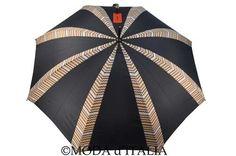 #Missoni #Schirm #Regenschirm #Stockschirm #Umbrella #Ombrello #Paraguas Orange Label