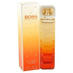 Boss Orange Sunset by Hugo Boss Eau De Toilette Spray 2.5 oz. Boss Orange Sunset by Hugo Boss was launched in 2010, for the vivacious and the flirty beauties. Embracing the beauty of the sunset and the dynamism of the citrus splurge, this fragrance is for the zealous women. The advertising face of this attention-grabbing aroma is Sienna Miller. The top notes of the fragrance open to the energizing accords of bergamot and mandarin orange. The white floral heart is accompanied by the luscious…