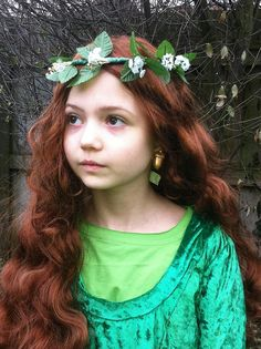 {Modesty B. Catt dressed as Princess Ce'Nedra from The Belgariad for World Book Day.}