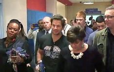 """""""If my career goes south, I'm working at McDonald's. I'm driving a tow truck,"""" Mark Wahlberg told a packed room of high school students. """"That's why I'm going back to high school."""""""