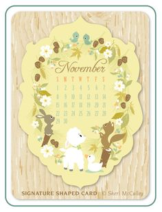 Woodberry Forest 2015 Calendar of the woodland by sherimcculley