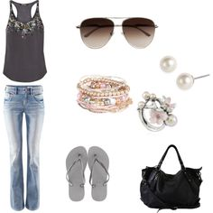 """""""summer."""" by stephjohnson24 on Polyvore"""