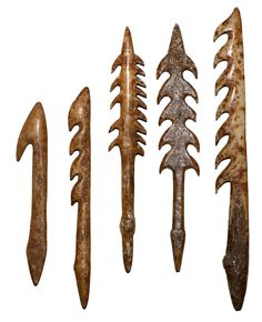 Inuit culture harpoons bone  - #guidofrilli