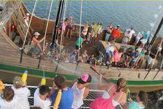 Orange Beach, Alabama: FUN filled island tour and dolphin cruise on 1 of our 2 FUN BOATS