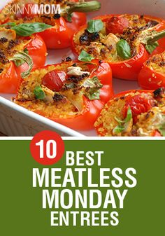 Just because your dish is meatless, doesn't mean your meal has to be flavorless. Try these awesome meatless monday entrees!