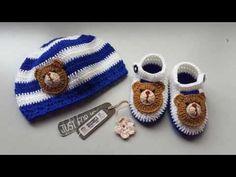 gorros tejidos para bebe - YouTube