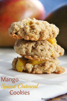 Mango Spiced Oatmeal Cookies - Made on 3/10/13 - Added coconut to mine Mmmmmm