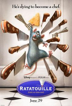 disney/pixar Ratatouille.  Don't know why, but I loved this movie!